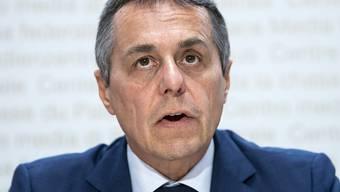 Bundesrat Ignazio Cassis intervenierte telefonisch in Sri Lanka. (Archivbild)