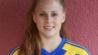 Alana Kaya Burkhart im Dress des SC Derendingen, des NLB-Schweizer-Meisters.