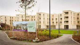 «Pfalzpark», Staufen AG: Leere Überbauungen tragen dazu bei, dass die Mieten gesunken sind. Derweil dauert der Bauboom an – selbst in Regionen mit vielen leeren Wohnungen.