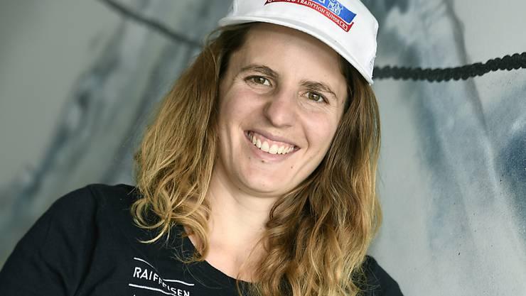 Patrizia Kummer führt das Alpin-Team der Schweizer Snowboarder an