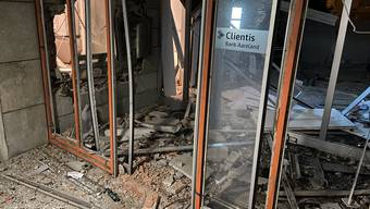 In Küttigen ist ein Bankomat gesprengt worden.
