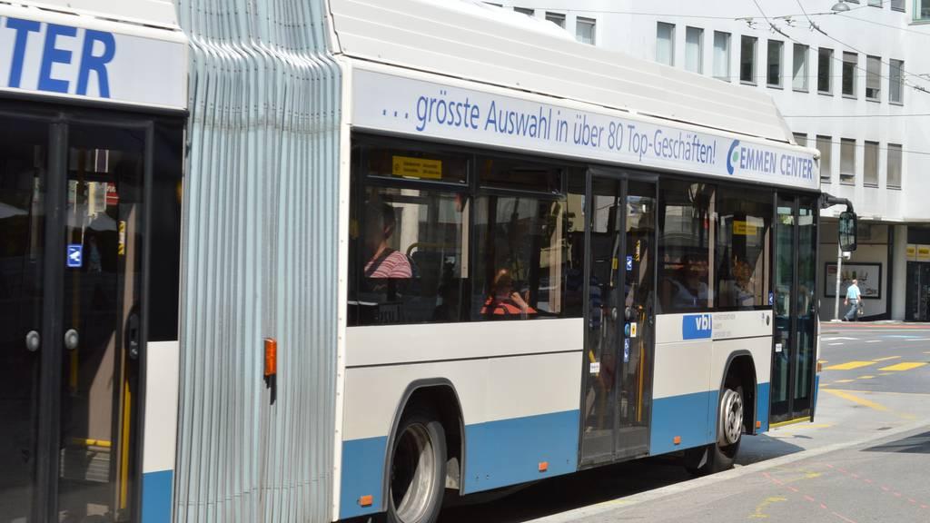 Fahrgäste sind mit dem ÖV zufrieden