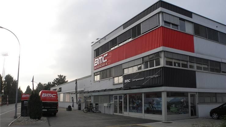 Ware für über 100000 Franken wurde bei BMC gestohlen.