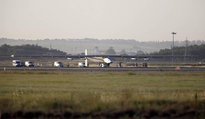 Solarimpulse sicher in Sevilla gelandet