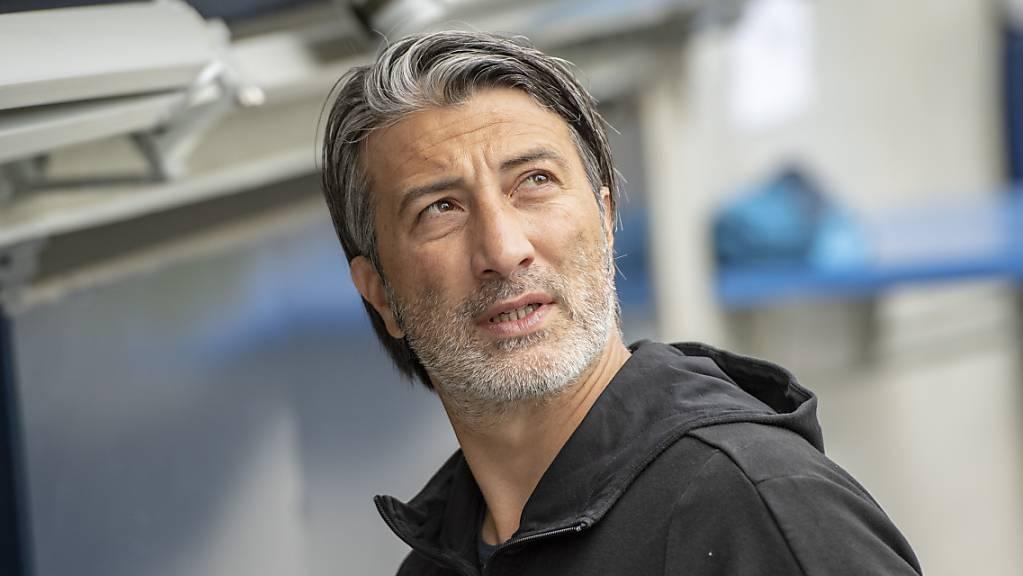 Schaffhausens Trainer Murat Yakin darf in der Rangliste nach oben blicken.