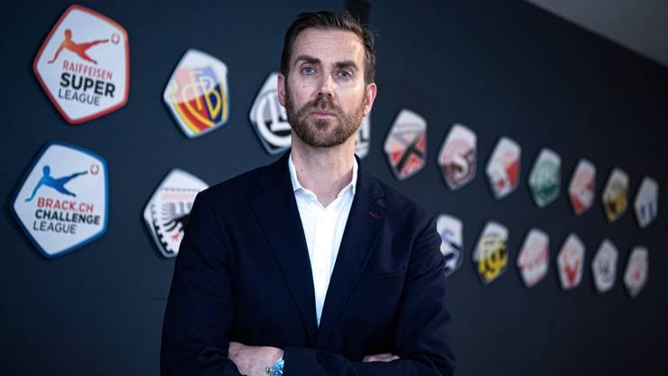 Liga-CEO Claudius Schäfer spricht von einer sehr schwierigen Situation für den Schweizer Fussball.