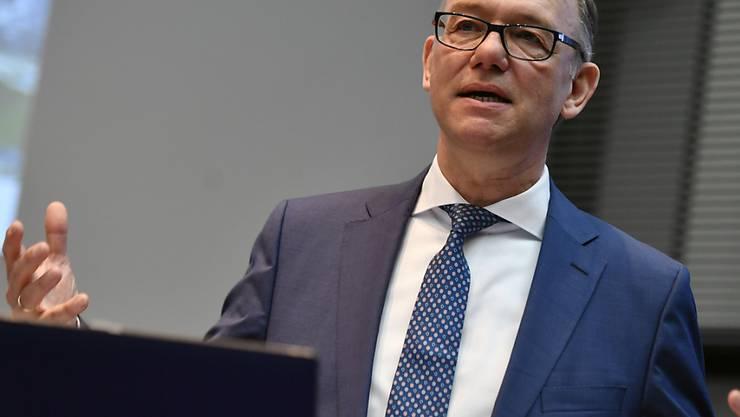 Detlef Trefzger, Konzernleiter von Kühne+Nagel, konzentriert sich auf Wachstum.