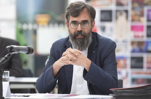 Dieter Wicki leitet den Kantonalen Führungsstab.