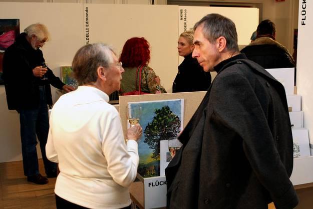 """Schmökern im Fundus von """"Kunst findet Stadt"""""""