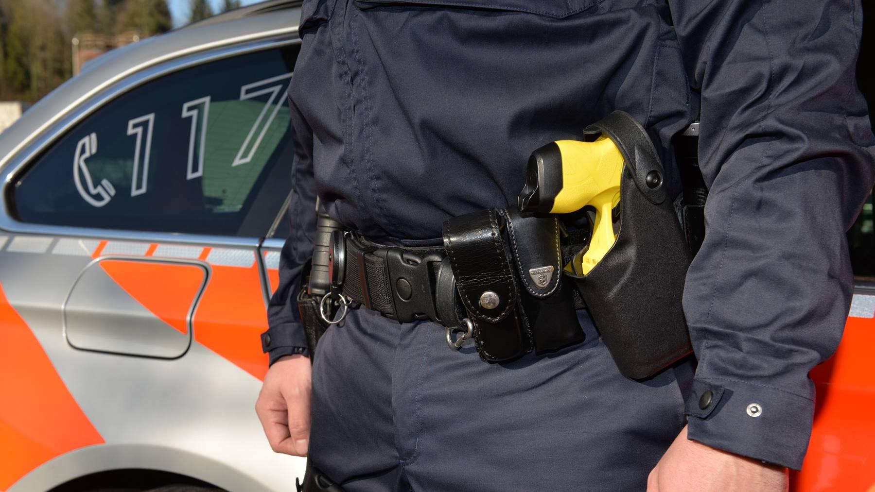 Dank Taser mehr Sicherheit bei Einsätzen mit Gewalt.