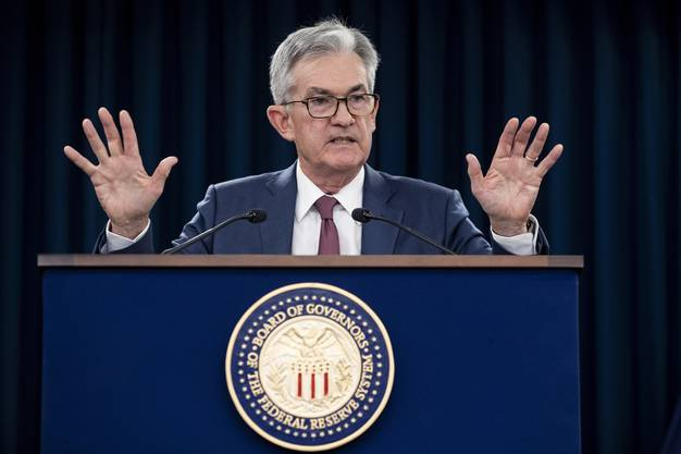 Der aktuelle Chef der Federal Reserve: Jerome Powell.