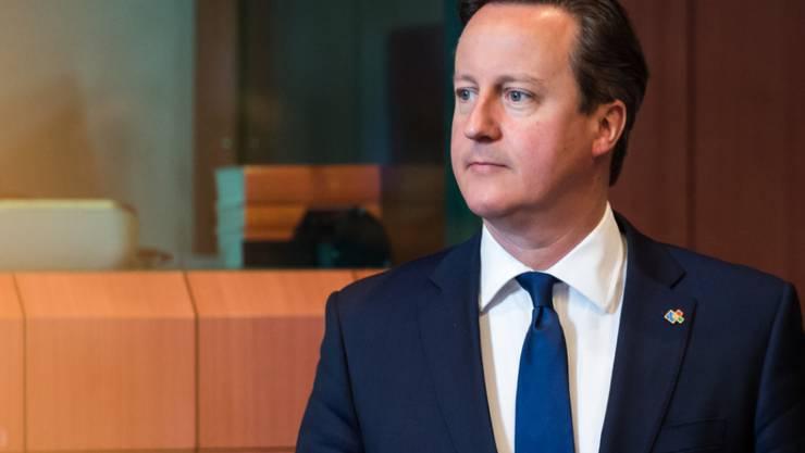 Prüfung bestanden: Britischer Premier Cameron bringt seinen Änderungsantrag im Parlament durch (Archiv)