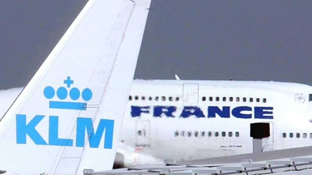 Air France-KLM legt ein Jahr nach Streiks zu
