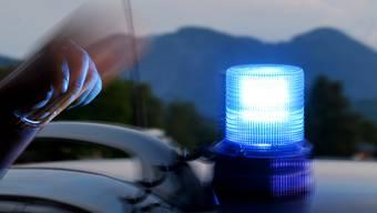Blaulicht eines Polizeiautos: Die Ermittlungen laufen auf Hochtouren. (Symbolbild)