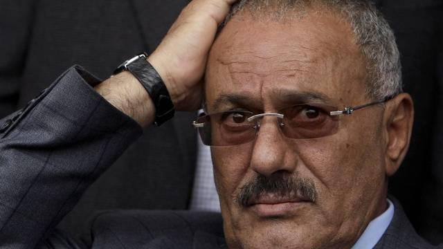 Jemens Staatschef Ali Abdallah Saleh