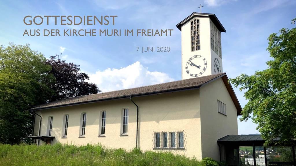 Gottesdienst aus der Kirche Muri