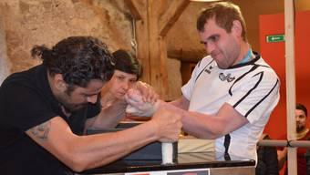Armwrestling-Schweizermeisterschaft