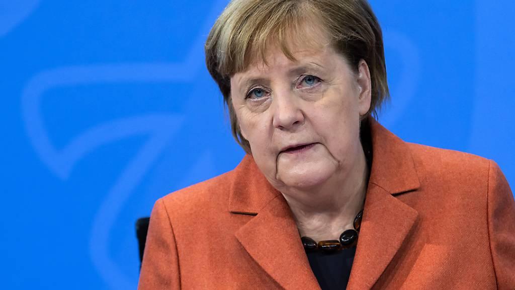 Merkel würdigt Biden-Rede: «Sehr gute Botschaft»