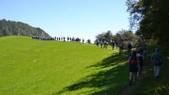 Leserwandern 2016, 13.Etappe von Egerkingen nach Langenbruck