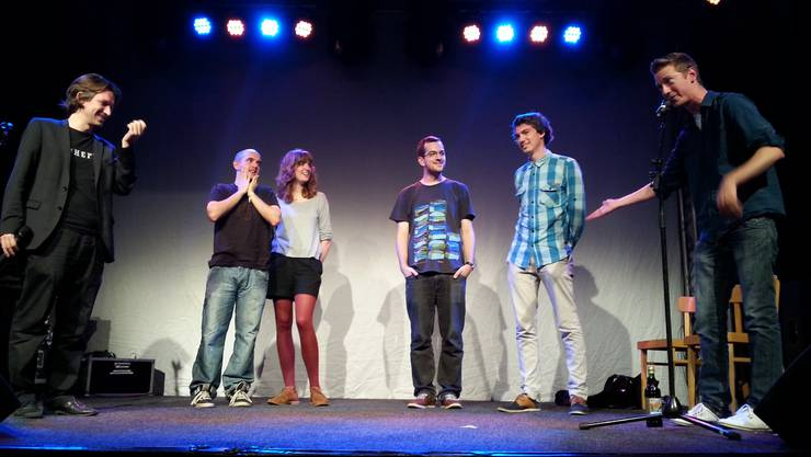 Auch dieses Jahr gibt es wieder einen Poetry Slam.
