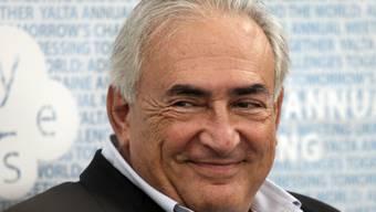 Strauss-Kahn hat vielleicht bald wieder Grund zum Lachen (Archiv)