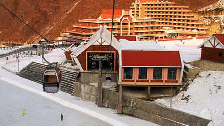 CWA-Gondeln in Nordkorea.