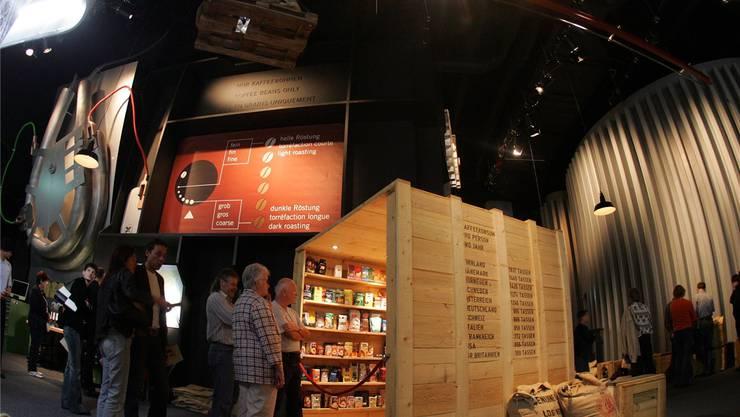 Über 200000 Besucher haben in den vergangenen sieben Jahren einen Rundgang durch die Juraworld of Coffee gemacht.