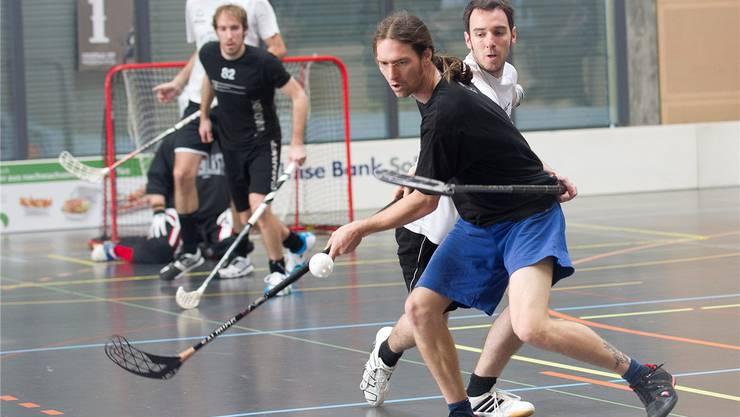 Der Christmas Cup ist das grösste Unihockey-Turnier der Schweiz. Bieri