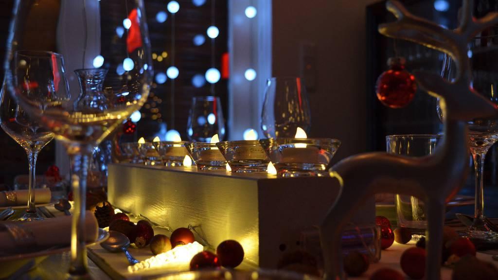 Weihnachtsessen mit der Firma