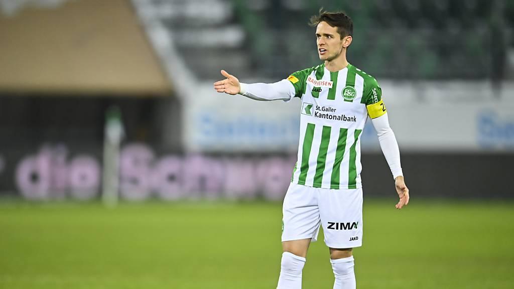 Wohin des Weges Jordi Quintilla? Der Captain des FC St. Gallen geht zum Saisonende von Bord