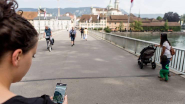 Der neue Renner in Solothurn: Die Stadtführer-App «11i-Tour».
