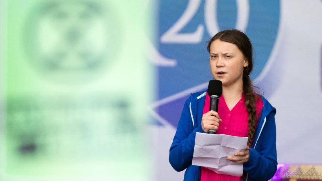 Thunberg nimmt an Klimagipfel in Lausanne teil