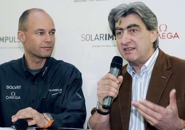 2006 holte Piccard Unternehmer und Swatch-CEO Nick Hayek ins Boot.