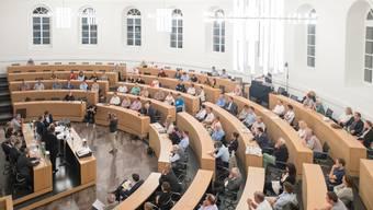 Impressionen vom Aargauer Regierungsratspodium
