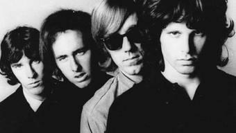 John Densmore, Robbie Krieger, Ray Manzarek und Jim Morrison (von links nach rechts) (Archiv)