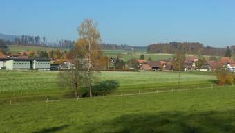 Blick auf den Ortsteil Lüterkofen.