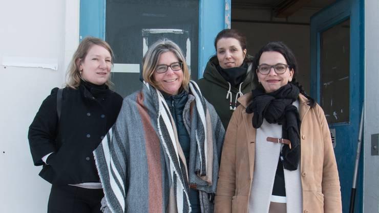 Sie wollen einen «kulturellen Leuchtturm» errichten: Daniela Saxer, Irene Brioschi, Carla Hohmeister und Kerstin Camenisch (von links).