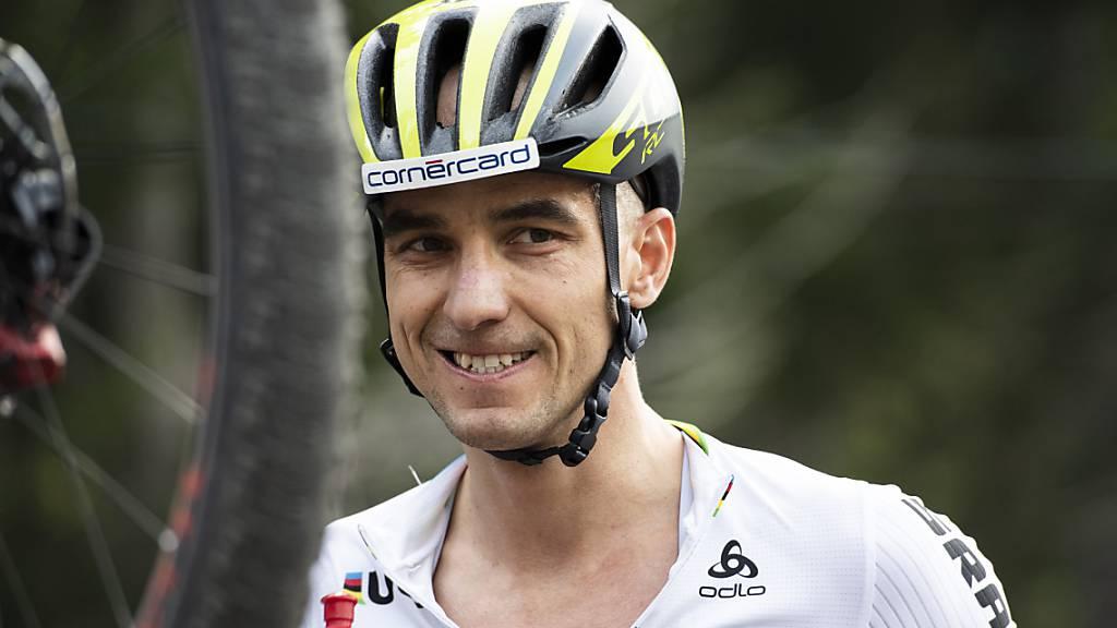 «Der Sport rückt in den Hintergrund»: Nino Schurter will im Moment nicht an Rennen denken, muss sich aber fit halten