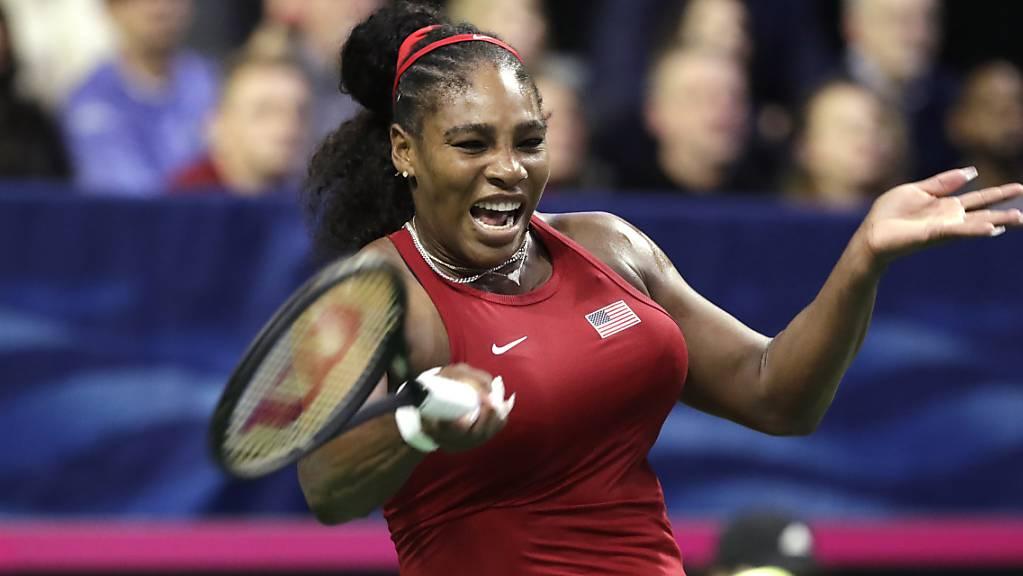 Serena Williams kann es kaum erwarten, endlich wieder Tennisturniere zu spielen.