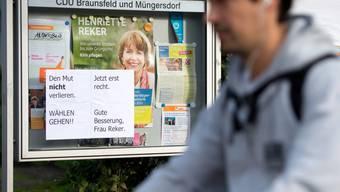 Wurde Opfer einer brutalen Messerattacke: Henriette Reker.
