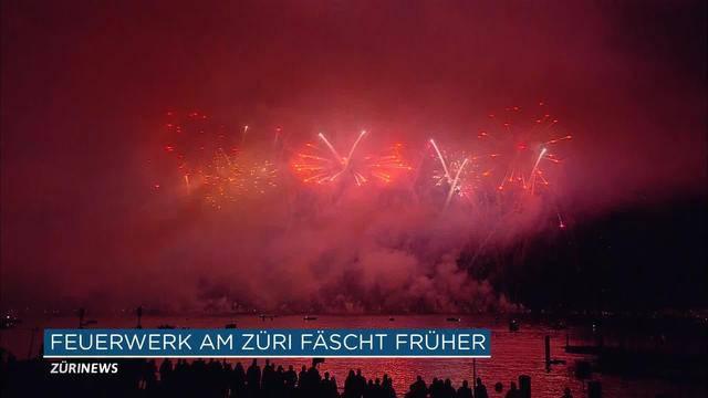 Final-Feuerwerk am Züri Fäscht vorverschoben