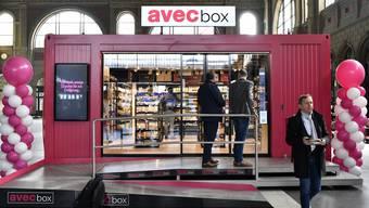Avec Box im Hauptbahnhof Zürich (5)