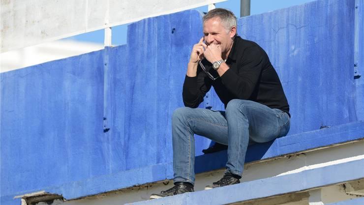 FCB-Chefscout Ruedi Zbinden hat den späteren FCB-Captain entdeckt.