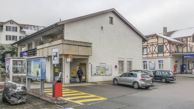 Die Poststelle in Beinwil am See.