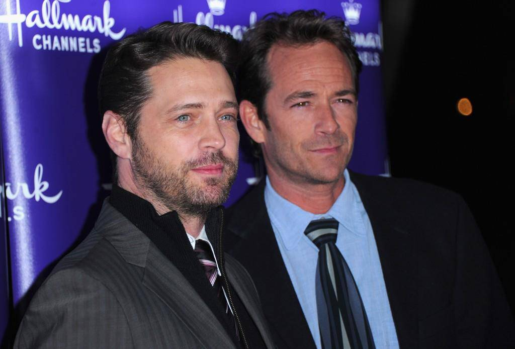 Mit Jason Priestley feierte Luke Perry grosse Erfolge mit der Serie «Beverly Hills, 90210»