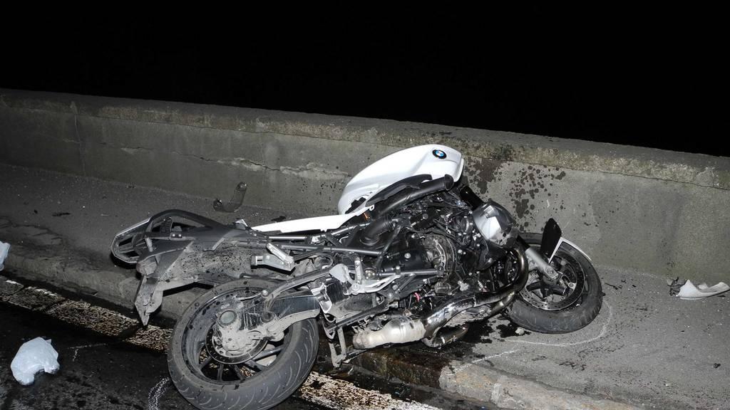 Betrunkener Dieb verursacht Unfall mit gestohlenem Motorrad