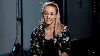 Am «Athletes Day» spricht Ariella Kaeslin über Schwierigkeiten nach ihrem Rücktritt.