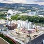 Bauarbeiten Kebag Enova im Juli 2020