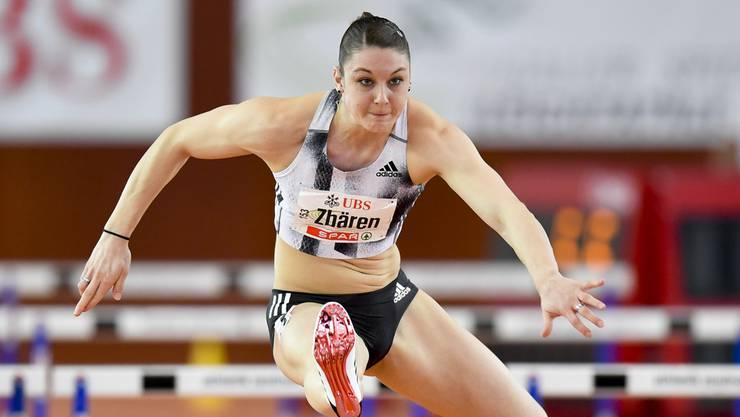Noemi Zbären und weitere Aushängeschilder der Schweizer Leichtathletik waren am Hürdencup in Basel.
