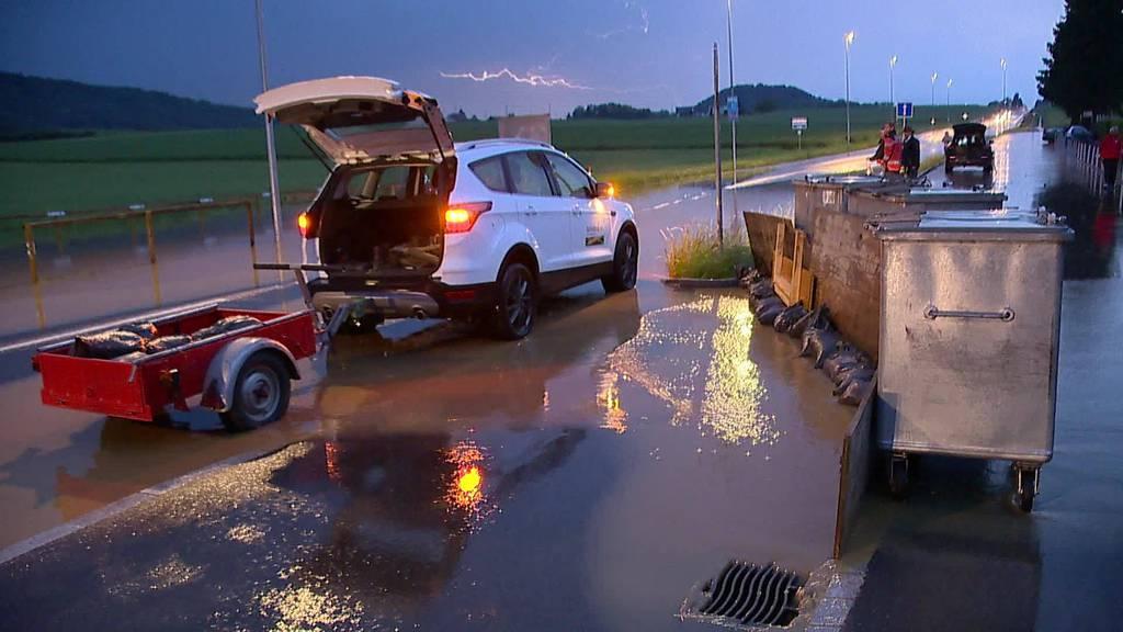 Unwetter: Über 120 Schäden im Thurgau gemeldet